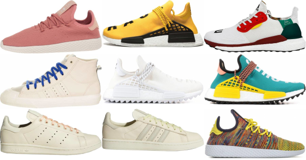buy pharrell williams x adidas sneakers for men and women