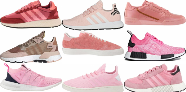 Save 60% on Pink Adidas Sneakers (52 Models in Stock