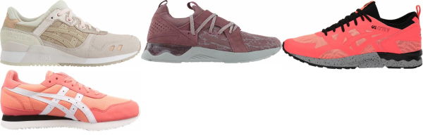 buy pink asics sneakers for men and women