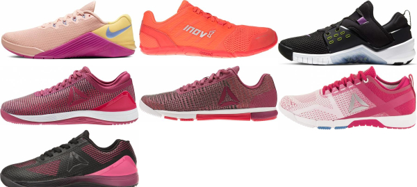 buy pink crossfit shoes for men and women