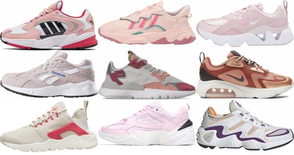 buy pink dad sneakers for men and women