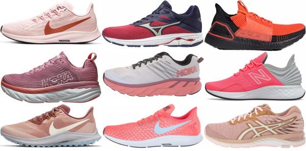 buy pink daily running shoes for men and women