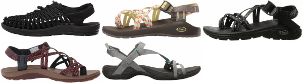 buy pink hiking sandals for men and women