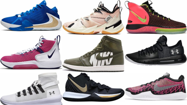 buy pink lace-up basketball shoes for men and women