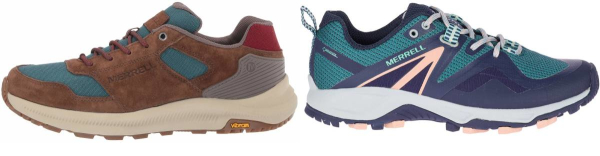 buy pink merrell hiking shoes for men and women