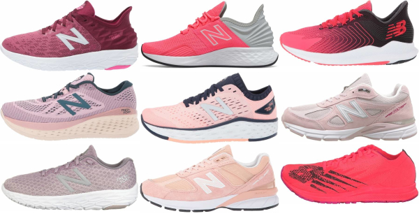buy pink new balance running shoes for men and women