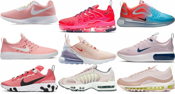 buy pink nike sneakers for men and women