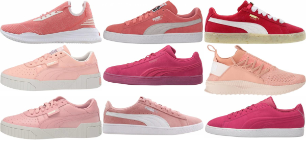 buy pink puma sneakers for men and women