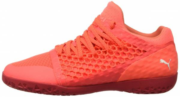 buy pink puma soccer cleats for men and women