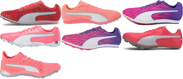 buy pink puma track & field shoes for men and women