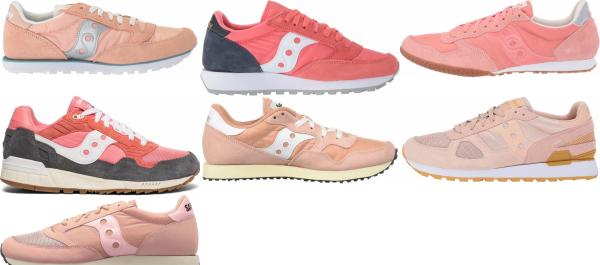 buy pink saucony sneakers for men and women