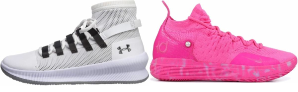 buy pink slip-on basketball shoes for men and women