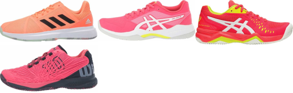 buy pink synthetic upper tennis shoes for men and women