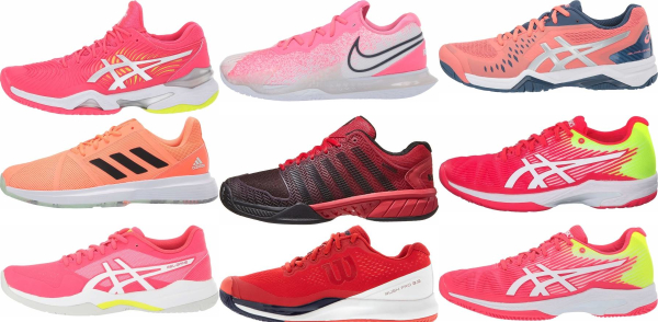 buy pink tennis shoes for men and women