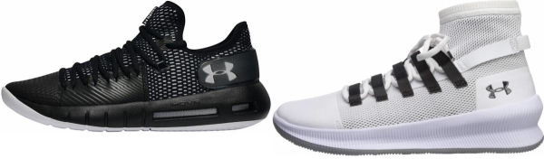 buy pink under armour basketball shoes for men and women