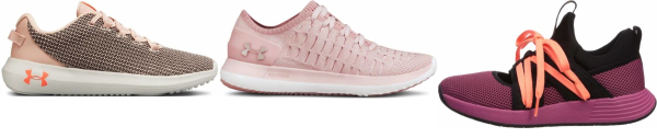 buy pink under armour sneakers for men and women
