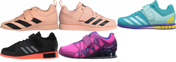 buy pink weightlifting shoes for men and women