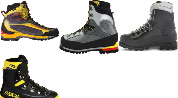 buy plastic mountaineering boots for men and women