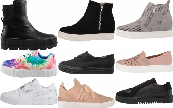 buy platform casual sneakers for men and women