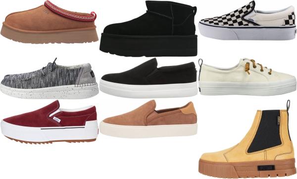 buy platform slip-on sneakers for men and women