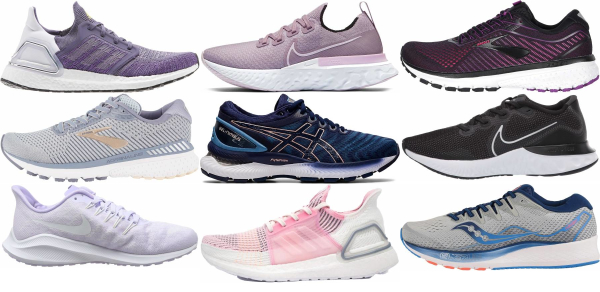 buy plush running shoes for men and women