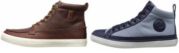 buy polo ralph lauren  high top sneakers for men and women