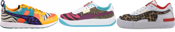 buy puma animal print sneakers for men and women