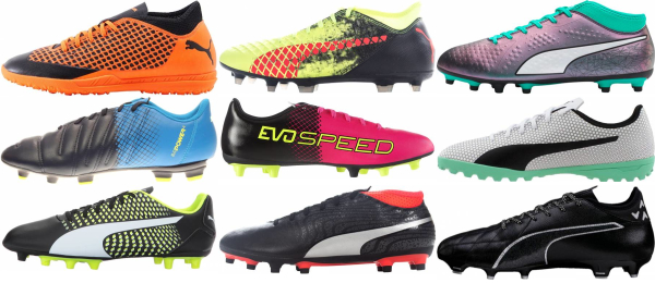 buy puma cheap soccer cleats for men and women