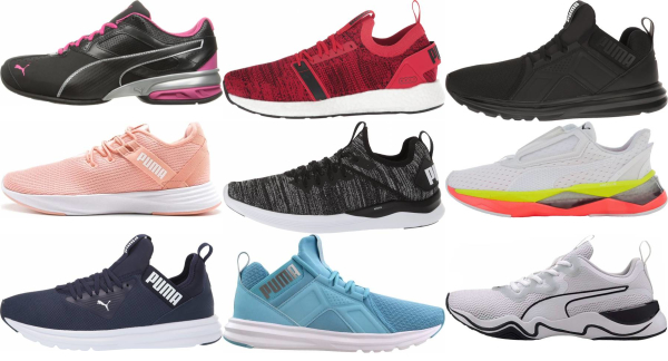 buy puma cross-training shoes for men and women