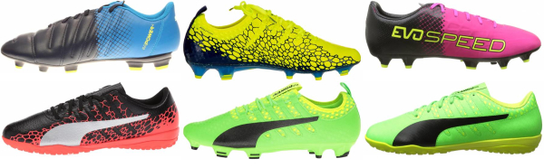 buy puma evopower soccer cleats for men and women