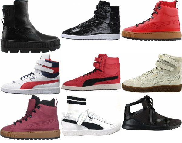 buy puma high top sneakers for men and women