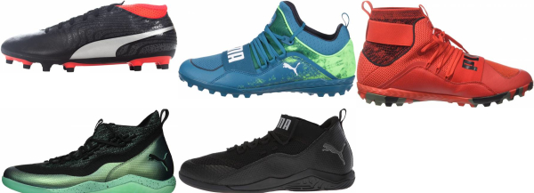 buy puma high top soccer cleats for men and women