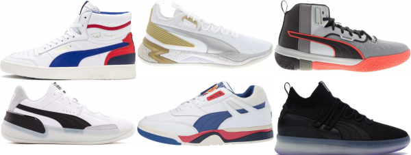 buy puma lace-up basketball shoes for men and women