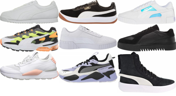 buy puma leather sneakers for men and women