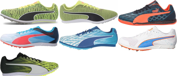 buy puma long distance track & field shoes for men and women