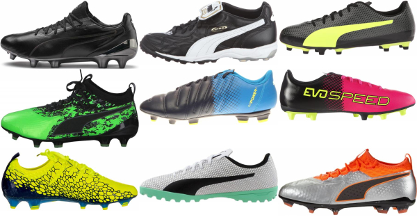 buy puma low top soccer cleats for men and women