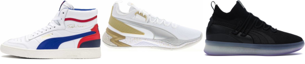buy puma mid basketball shoes for men and women