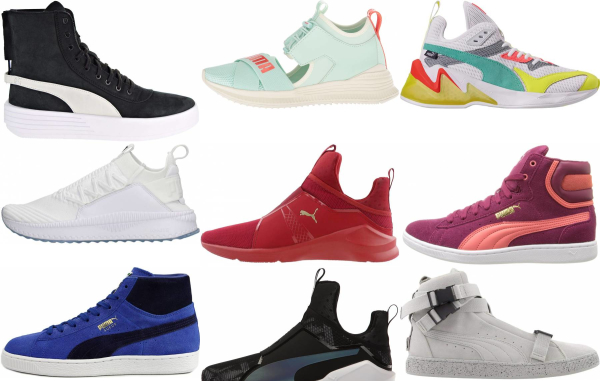 buy puma mid top sneakers for men and women
