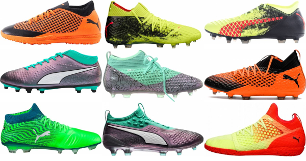 buy puma mid top soccer cleats for men and women