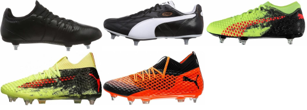 buy puma soft ground soccer cleats for men and women