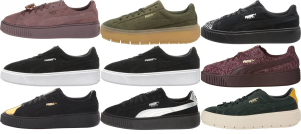 buy puma suede platform sneakers for men and women