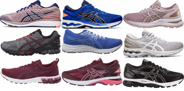 buy purple asics running shoes for men and women