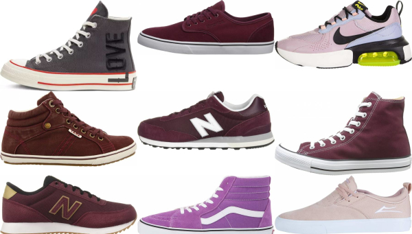 buy purple canvas sneakers for men and women
