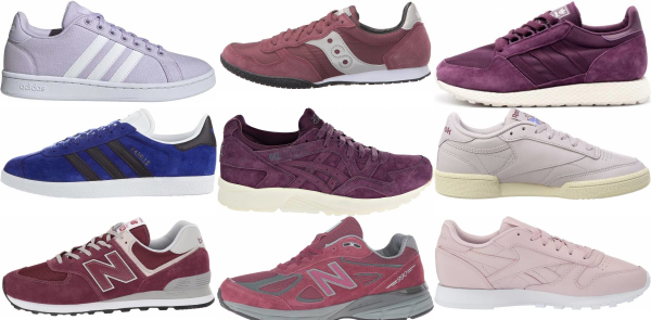 buy purple classic sneakers for men and women