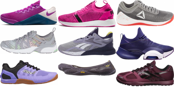 buy purple cross-training shoes for men and women
