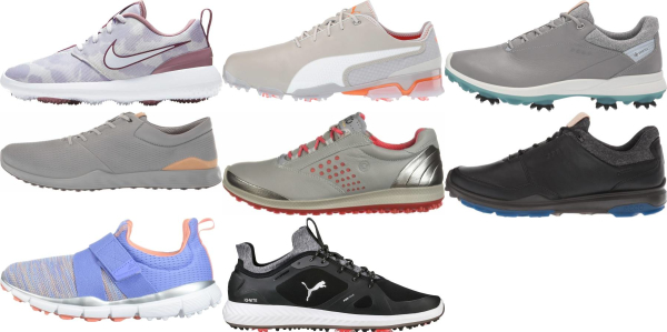 buy purple golf shoes for men and women