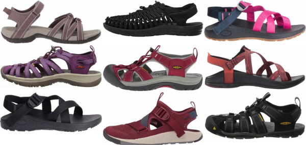 buy purple hiking sandals for men and women