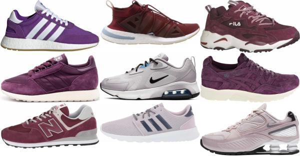 buy purple mesh sneakers for men and women