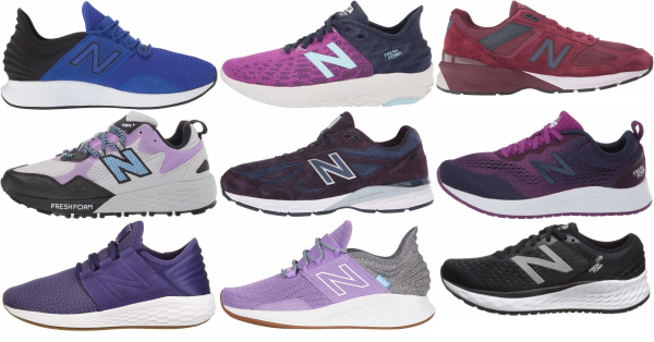 buy purple new balance running shoes for men and women