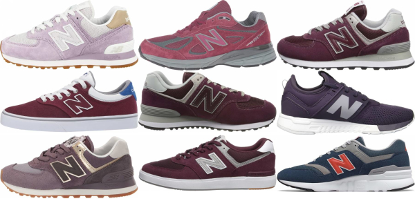 buy purple new balance sneakers for men and women